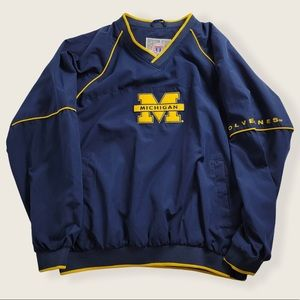 Michigan Wolverines Pull Over Jacket